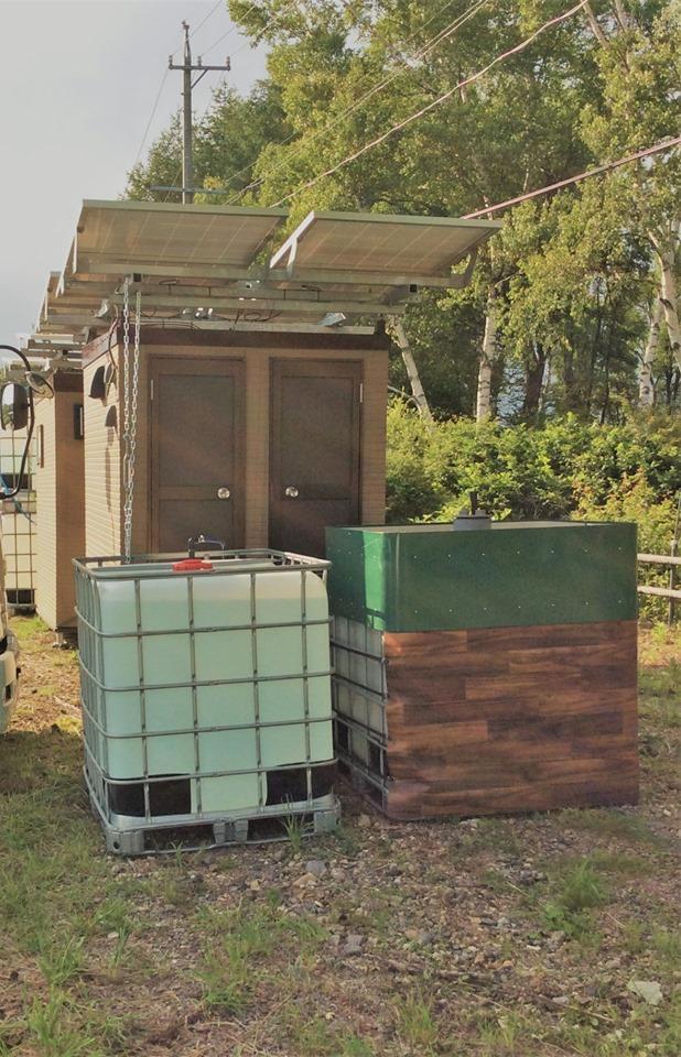 サラオ:長野県観光地駐車場にサラオⅡ型2台設置しました