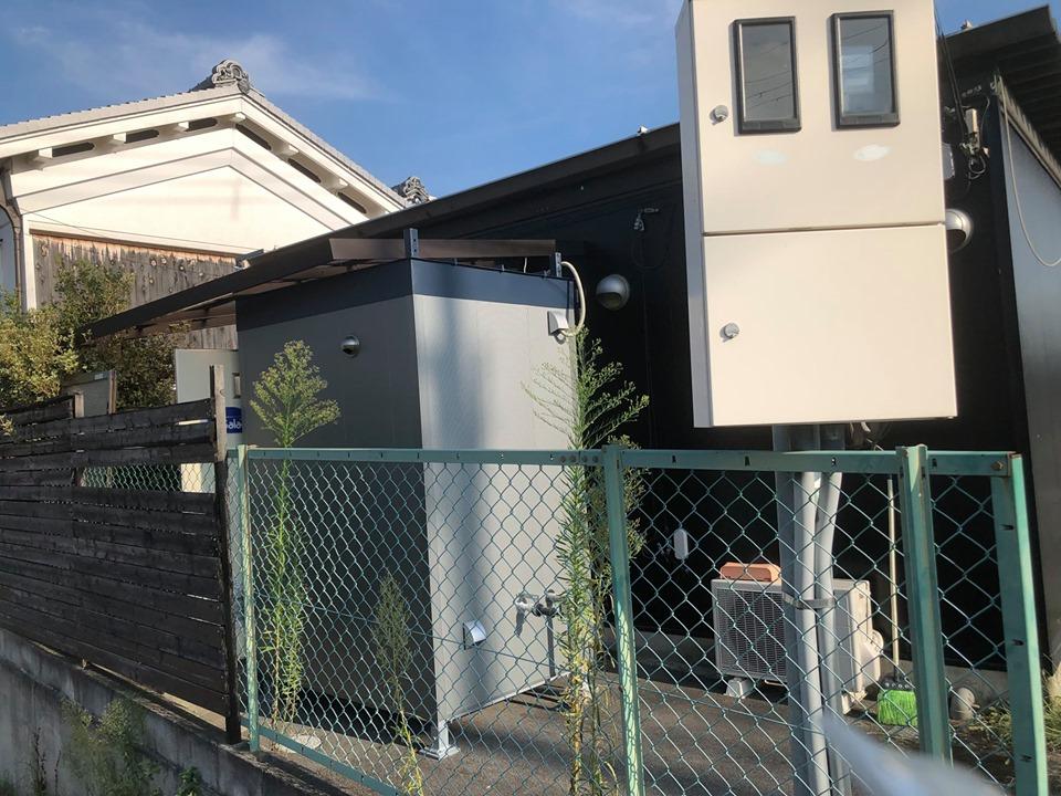 サラオ:奈良県サラオSⅠ型設置しました