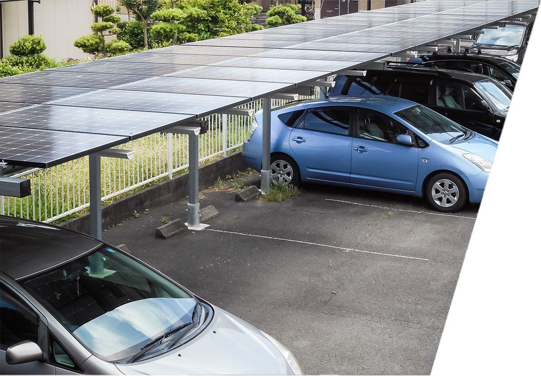 ソーラー発電 カーポートタイプ