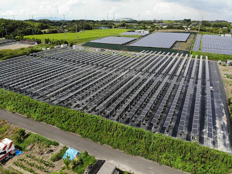 知多市太陽光発電所(全体2)