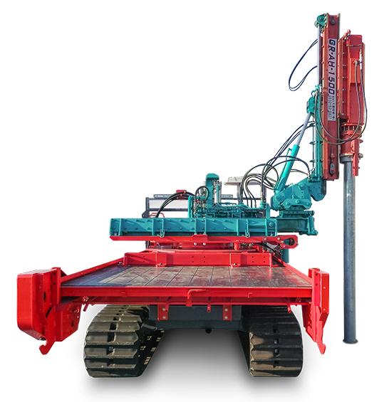 クローラー式油圧ハンマー G-CH40-6TW
