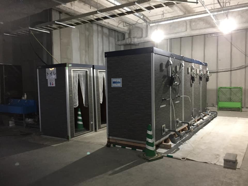 サラオ:福岡県にパネル組み立て式サラオを設置しました